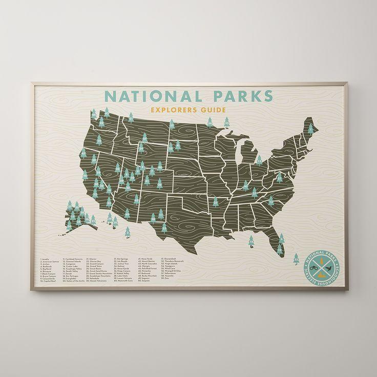 National Parks Print   Art   Accessories