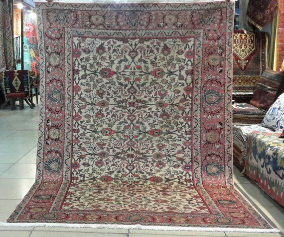 7 by 4.7 feet. Turkish handmade rug. Turkish rug. by turkishrugman