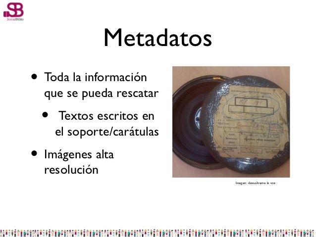 Recuperación de formatos obsoletos. Archivos de audio (noviembre 2012) Juan Antonio Casado orquestó una charla fuera de lo normal. Durante una hora nos habló de formatos obsoletos que muchos de nosotros nunca habíamos visto, y de otros formatos que hemos estado utilizando hasta hace relativamente pocos años y que ahora han quedado casi olvidados.  http://www.socialbiblio.com/materiales-de-la-sesion-sobre-recuperacion-de-formatos-obsoletos-archivos-de-audio/