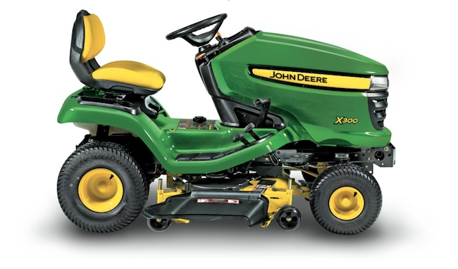 Spring is just around the corner! ENTER TODAY and every day this month to win a new John Deere riding mower!