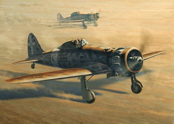 Macchi Mc.200 Saetta del 153 Gruppo Autonomo CT.