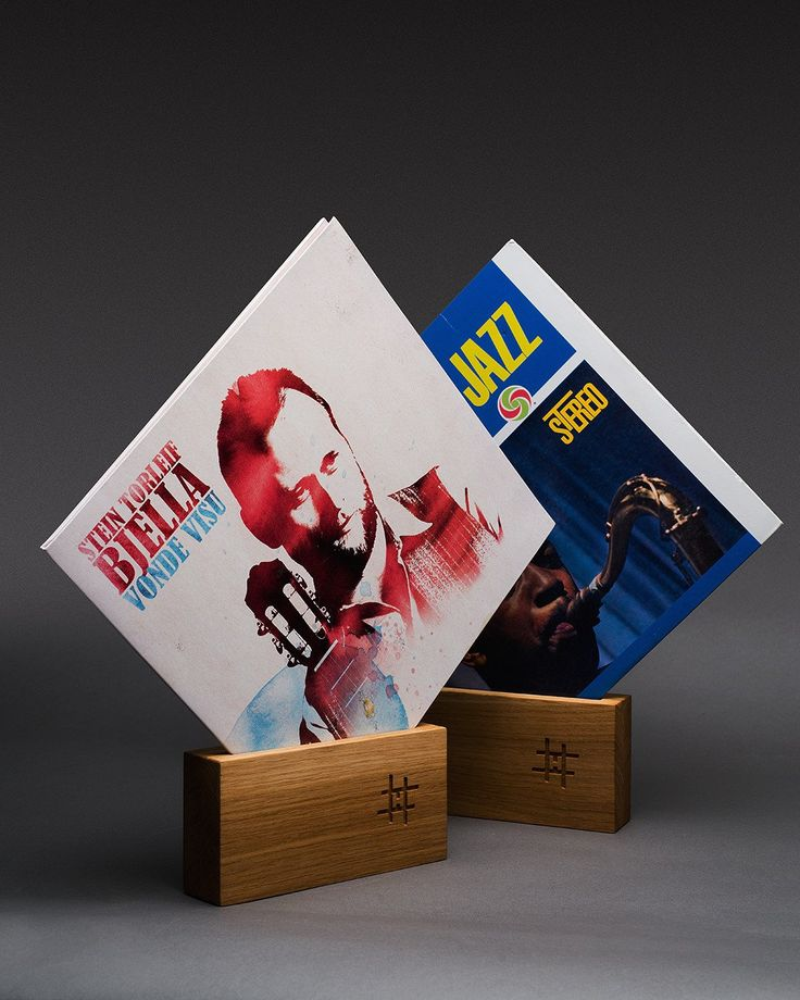 "Vinyl Stand, single. ""Now playing"" record stand. A great way to store the cover while the record is spinning. Or simply as a way to show off your favorite album!"