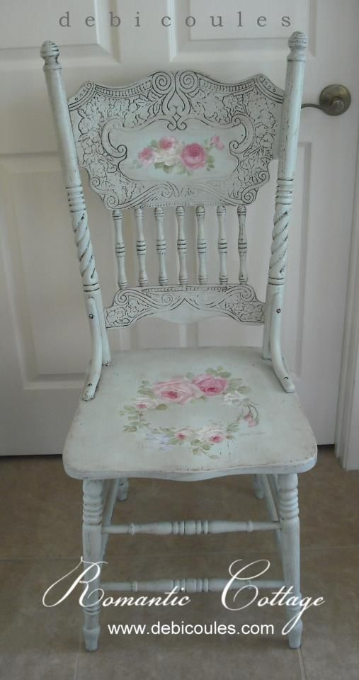Rose chair ♥