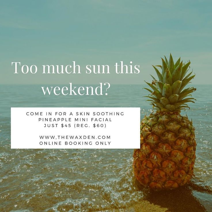 Lots of sun exposure means dry dehydrated sensitized skin. Schedule this refreshing facial today between 4p-7p for a $15 savings. Book online and discount will be given at checkout. #spa #esthetician #minifacial #facial #hydrate #sunburn #thewaxden #appointmentsavailable