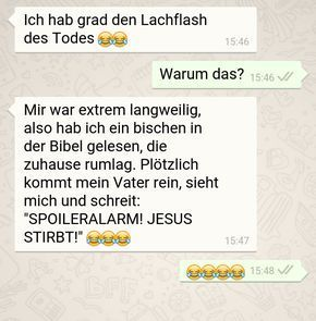 27 Whatsapp-Chats, über die du nicht nicht lachen kannst