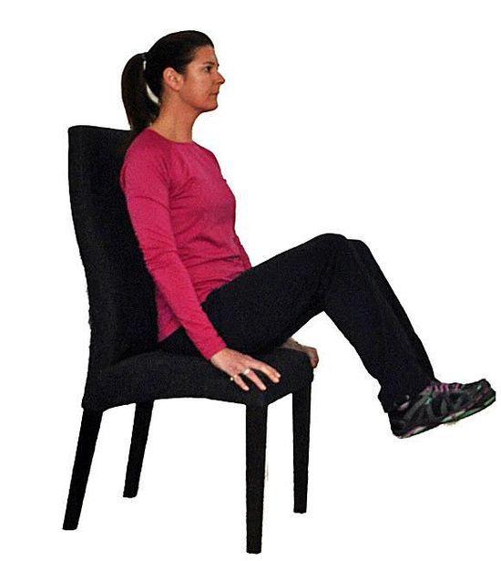 7 exerciții pentru burta lăsată, pe care le puteți face șezând pe scaun! - Fasingur