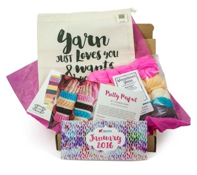 Yarn Crush Get yarn, patterns and bonus gifts delivered to your door monthly!