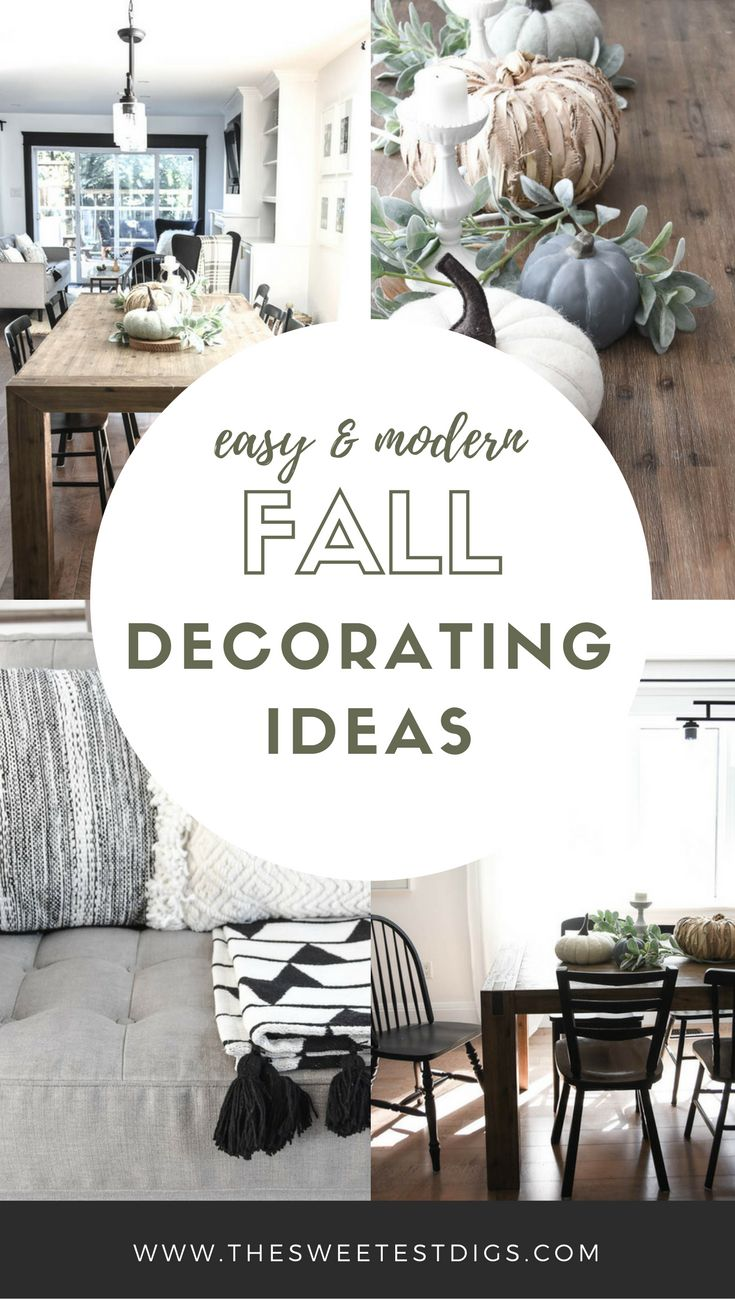 176 best Fall Decor Modern images on Pinterest | Craft, Decorating ...