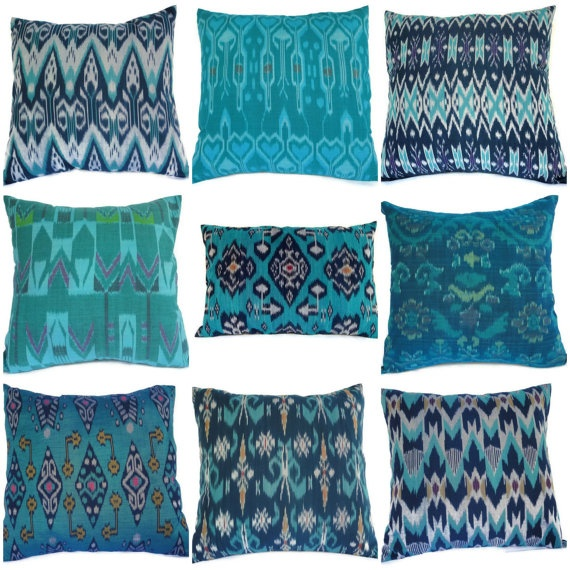 Ikat Pillows from Bali
