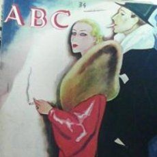 DIARIO ABC 15 DE ABRIL DE 1934 numero dominical extraordinario