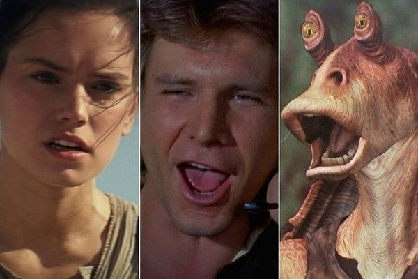 Are You More Rey, Han Solo or Jar Jar Binks? - Welcome to the Russian roulette of 'Star Wars' personality quizzes. - Quiz