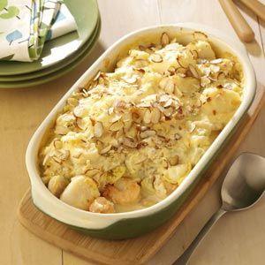 Special Seafood Casserole Recipe | Taste of Home Recipes