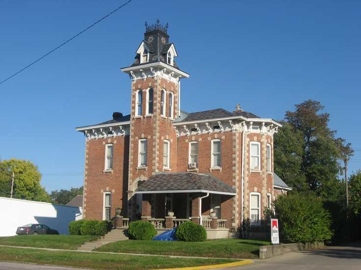 Second Empire House In Knightstown