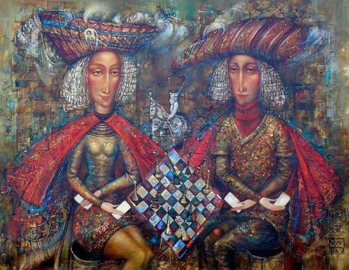 Персональный сайт художника Александра Шабанова Донецк