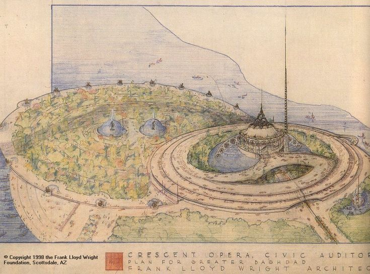 frank lloyd wright drawings | Vancouver and Chicago Interior Designers – Kalu Interiors Blog ...