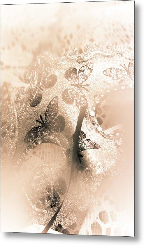 Mysterious Abstract Metal Print featuring the photograph Carnival Mystery by Jorgo Photography - Wall Art Gallery
