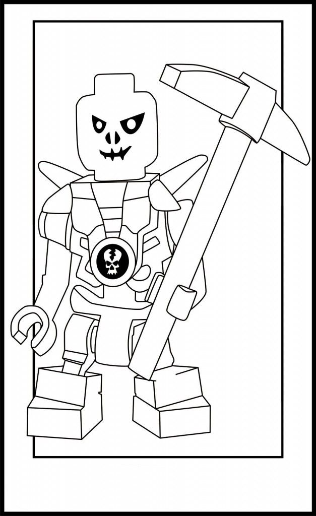 ninjago lego coloring pages - Lego Jurassic Park Coloring Pages