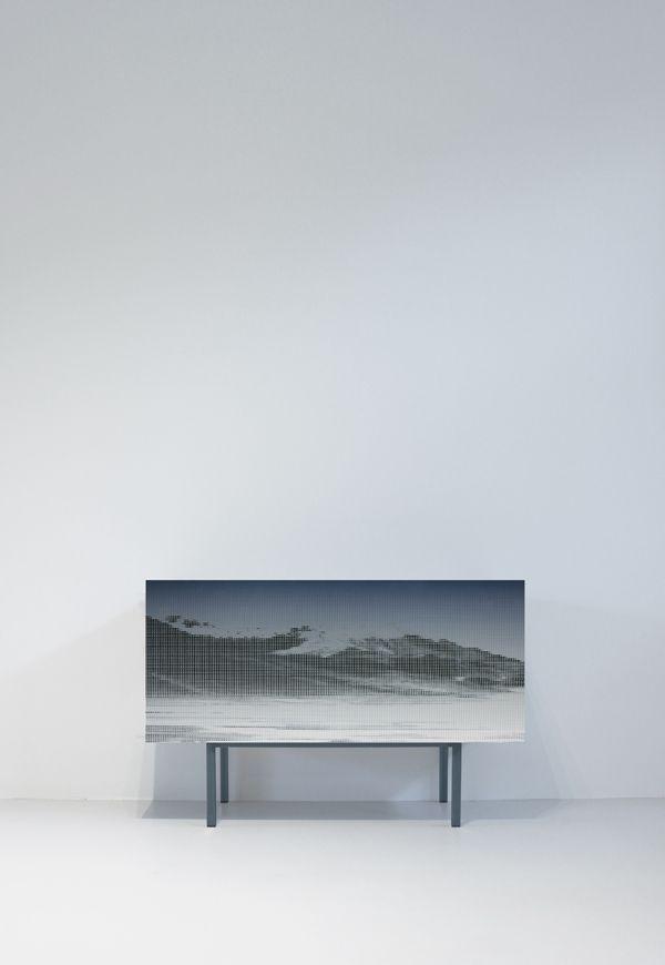 Dressoir kast 2.5D print | Ontwerpstudio Schmitz & Daan de Haan design