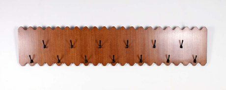 """Scotch Club"" Coat Rack by Jean ROYERE, Beirut, 1950 L233 W49 cm."