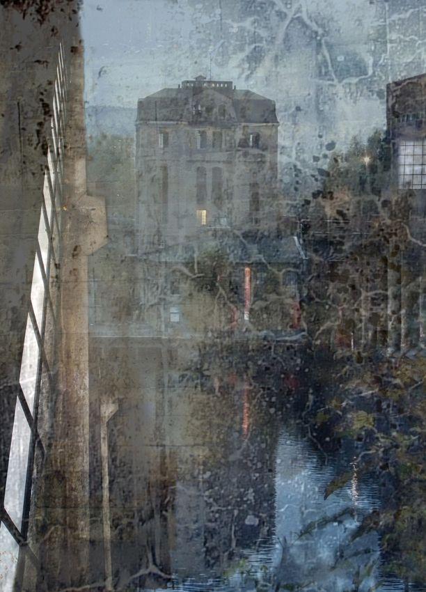 """groayla lillesund - Digital art """"SPRITEN"""" 50 x 36"""
