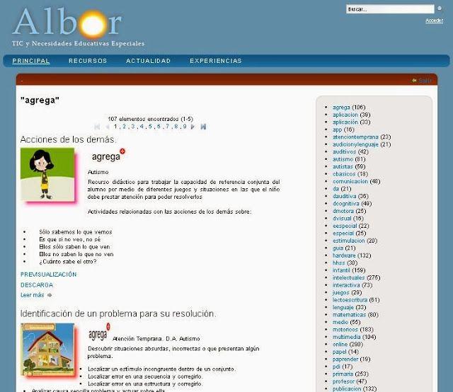 106 actividades interactivas del Proyecto Agrega - info-tea-materiales