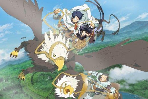 Top 10 Action Fantasy Anime Anime Fantastic Beasts Where Fantasy