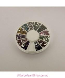 $5.00 Rhinestone Wheel - Triangles