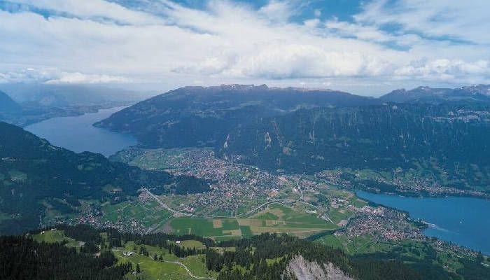 Interlaken w Szwajcarii