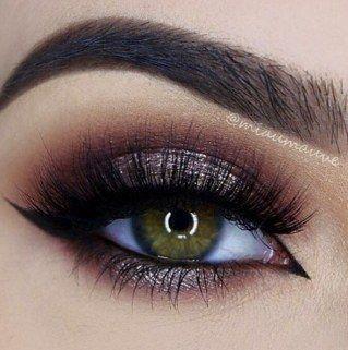 Glitter y cobre - Ideas de maquillaje para Nochevieja