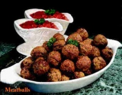 nothing like fried meatballs before the go in the gravy! magical