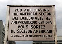 Checkpoint Charlie - Wikipedia, the free encyclopedia