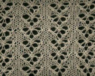 Lace Arrows 1 - Knittingfool Stitch Detail