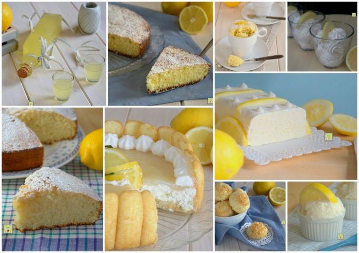 Le migliori ricette dolci col limone
