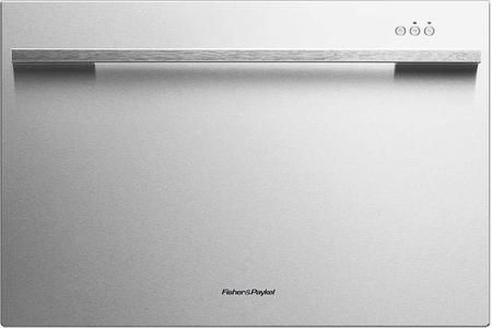 """DD24SDFX7 24"""" Single Drawer Dishwasher with 7 Place Settings 9 Wash Cycles Quiet 45 dBA Operation Adjustable Racks and Cutlery Basket in Stainless Steel"""