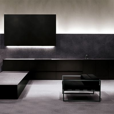 Minimalist and elegant interior by Minotti _