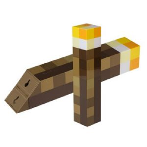 Minecraft Light-Up Torch or Wall Mount