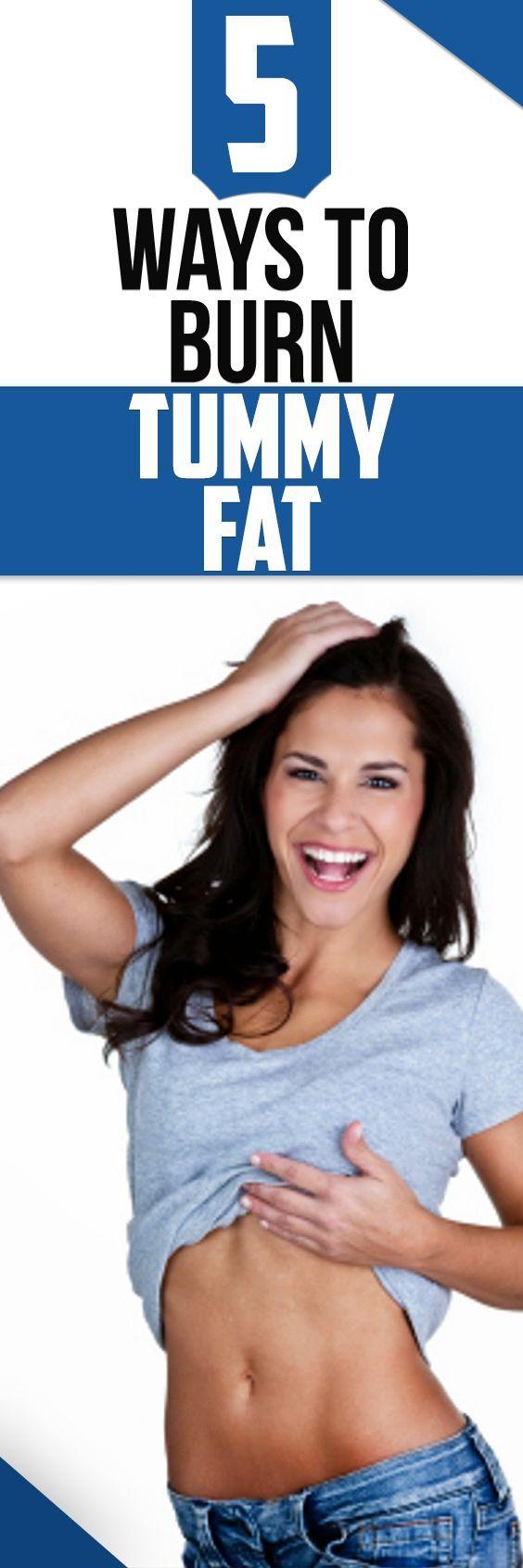 5 BEST Ways to Burn TUMMY FAT Quickly