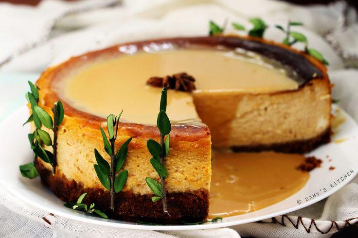 Damy's Kitchen: Süt Reçelli Cheesecake - Dulce De Leche Cheesecake