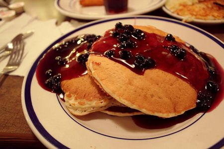 Do you have a great pancake or flapjack recipe for your Fundraising Cookbook? Then make sure you test it out at a Taste Test Fundraising Event!  (Photo by Kaitlin / Flickr.com)
