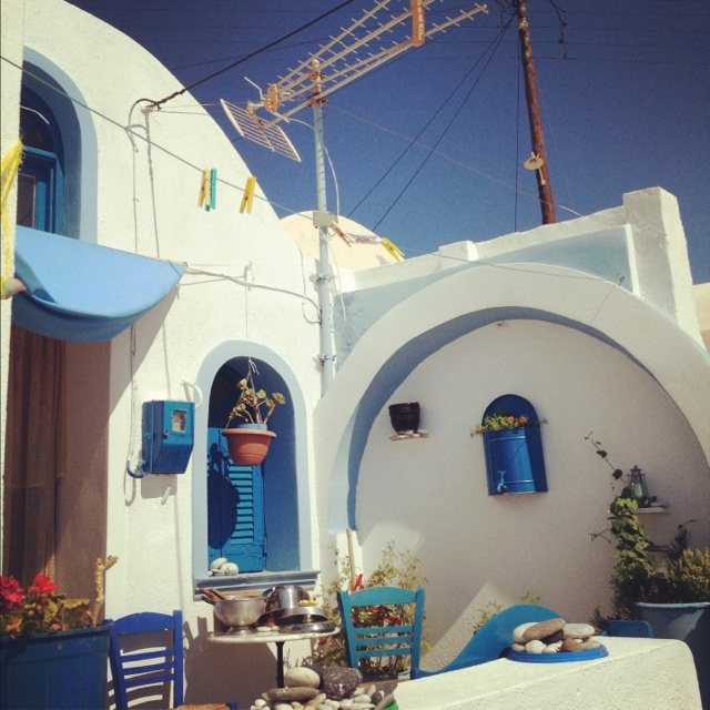 House in anafi