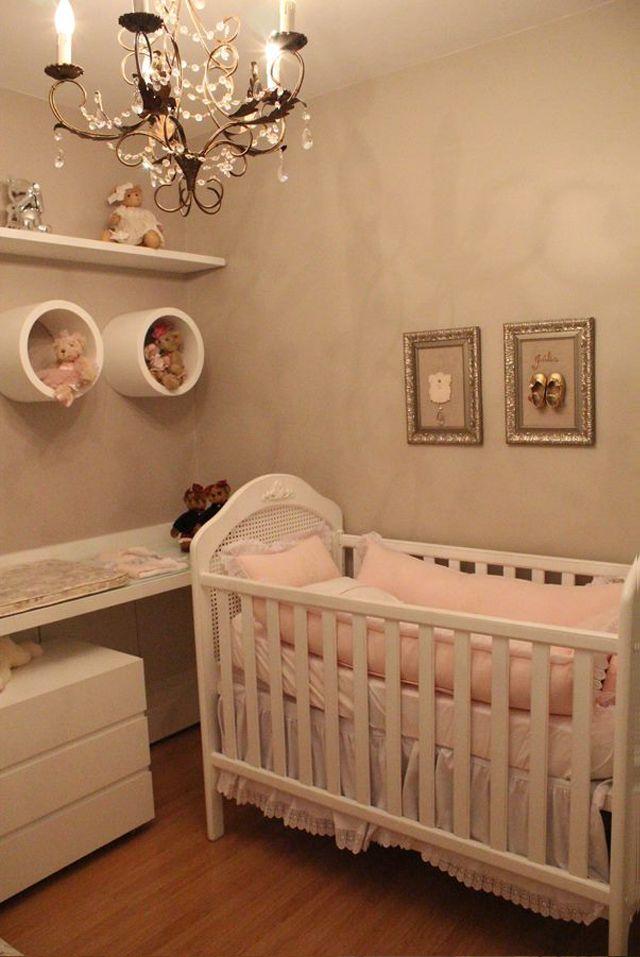 Quarto de bebê menina decorado com ursinhos e cor rosa - lindo!
