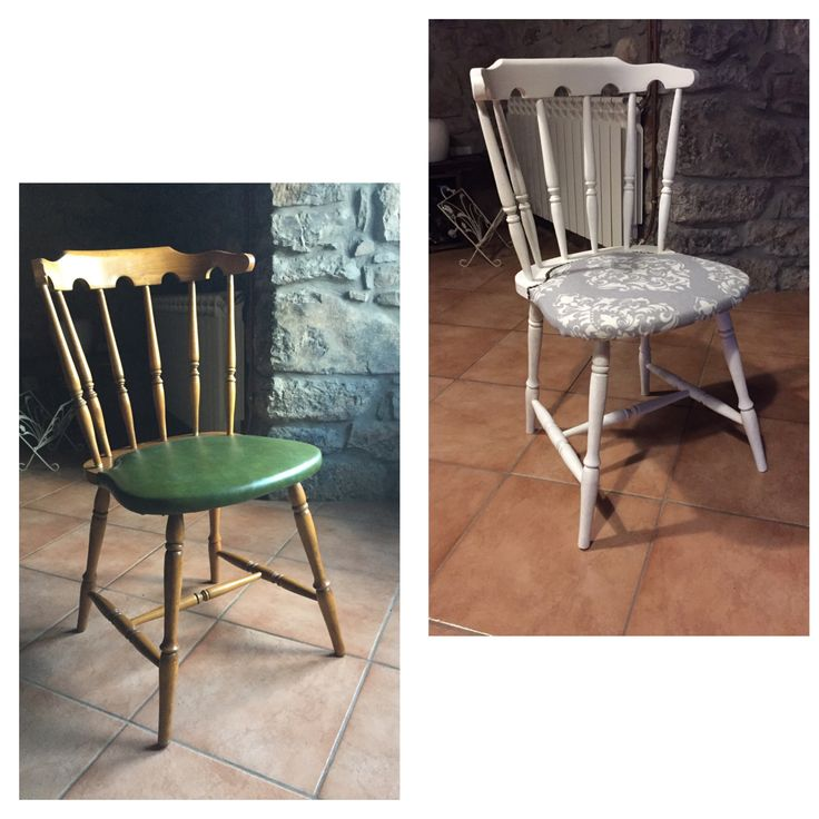Silla vintage, DIY, Chalk Paint