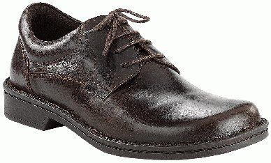 Footprints walking-shoes Wexford from Leather in Dark Brown with a medium insole FOOTPRINTS. $129.26