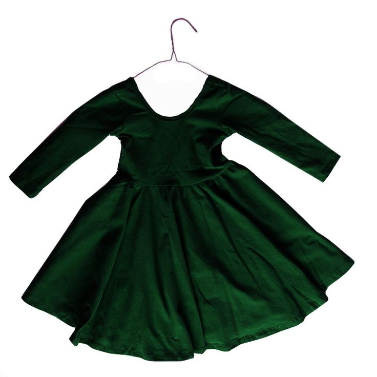 Image of Ballet dress in Evergreen - only a few left!