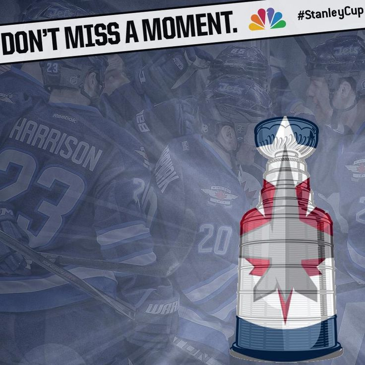 Don't Miss A Moment - Winnipeg Jets #NHLonNBC