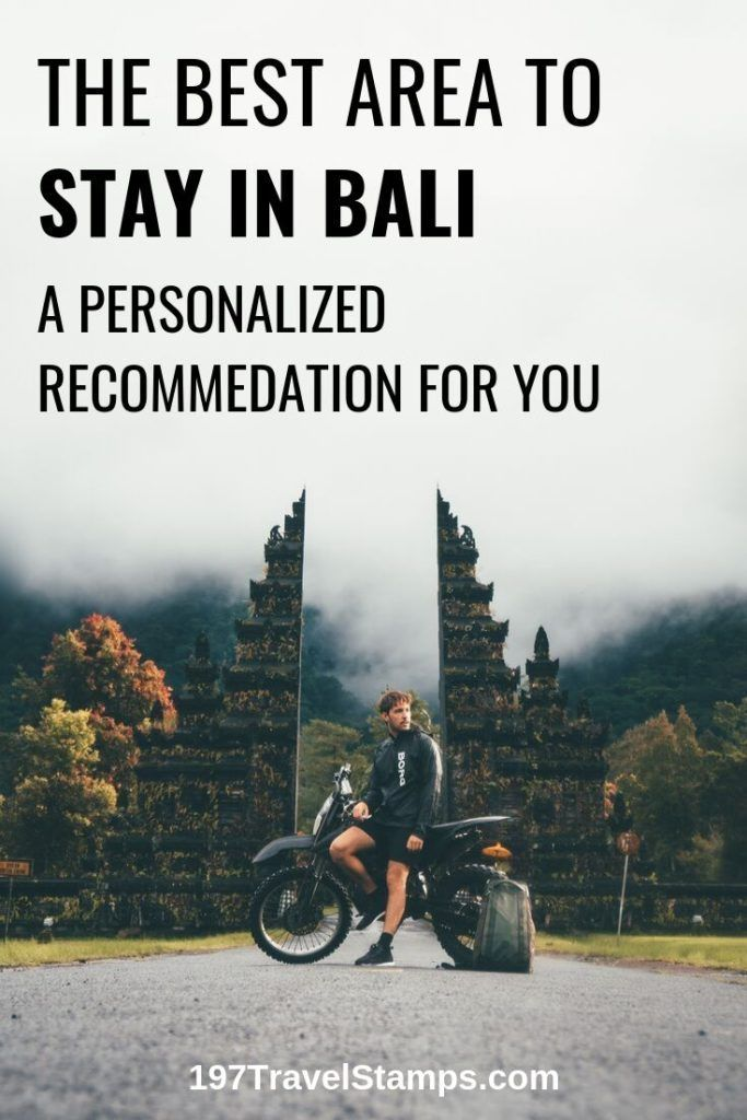 Best Area To Stay In Bali Indonesia Bali Travel Guide Travel