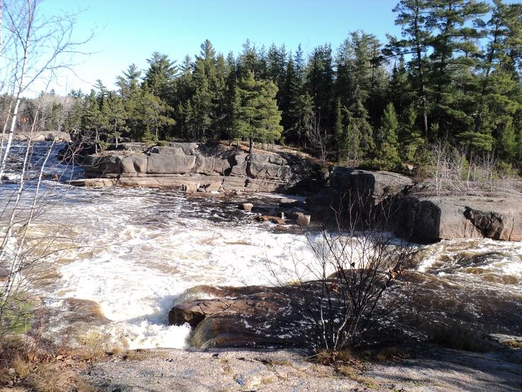 Pabineau's Falls, Bathurst, New Brunswick, Canada