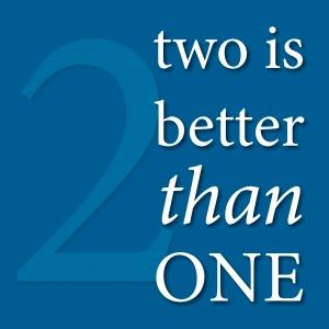 Two is better than one   snowyorange.com  #efficientlyefficient