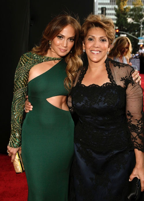 Jennifer Lopez And Her Mother, Guadalupe.