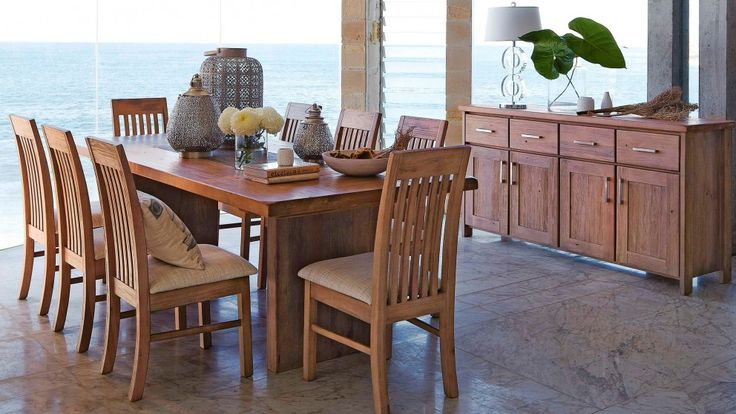 Morocco 9 Piece Dining Setting - Dining Furniture - Dining Room - Furniture, Outdoor & BBQs | Harvey Norman Australia